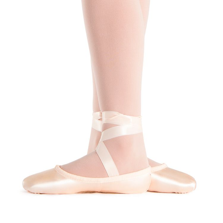 62fb32ed5c1d TEPLOV Pink Satin Ballet Shoes