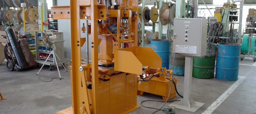 C.M. Production Testing Machine
