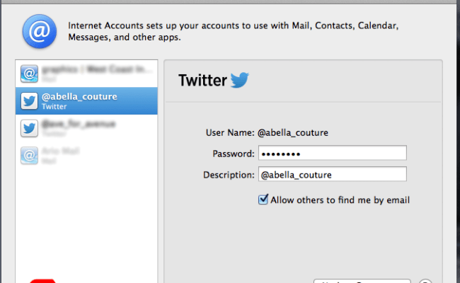 How To Remove Twitter Account From Mac Tigermoo Design Tips Reviews And A Little Bit Of