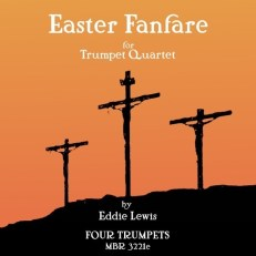 Easter Fanfare trumpet quartet sheet music pdf