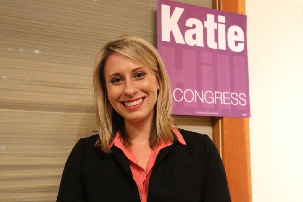 Image result for photos of Katie Hill
