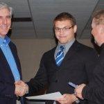 Brandon Worley - Badge Award