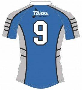 Blues Sponsor Tiger Jersey