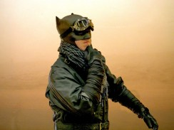 Evile-Ginger Cosplay Craig Patullo w. Tiger Stone FX Dark Knight Returns cowl