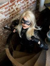 Only Human Hero with Tiger Stone FX Black Canary Mask - Photo by Tony Lowe