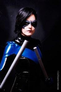 Freijya with Tiger Stone FX Robin / Nightwing mask