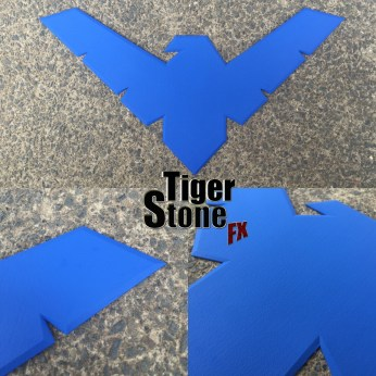 Nightwing emblem by Tiger Stone FX