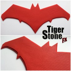 batman v superman dawn of justice Red Hood Jason Todd inspired chest emblem for your cosplay costume - made by Tiger Stone FX
