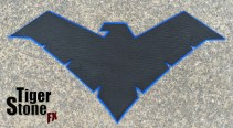 rebirth young justice batman v superman mashup chest emblem - made by Tiger Stone FX