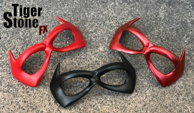 red Hood Jason Todd face mask to go with your helmet - made by tiger stone fx