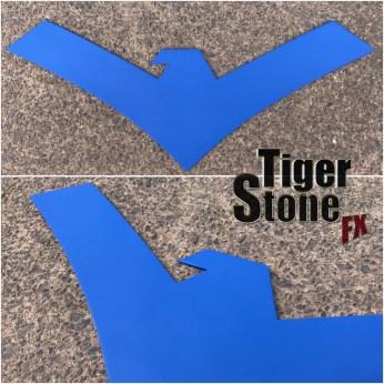 Nightwing Rebirth chest emblem by Tiger Stone FX