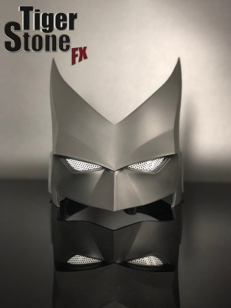 Batwoman mask (front) for your cosplay costume - made by Tiger Stone FX