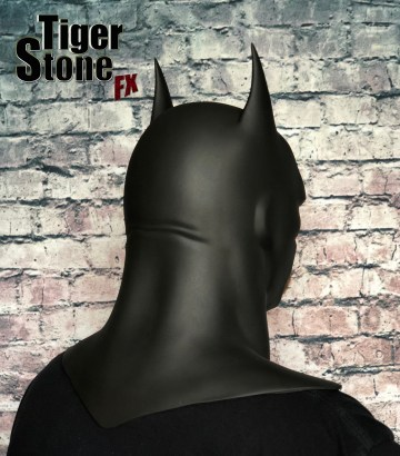 Justice League War Batman cowl (animated movie cowl) Batman Bad Blood -- made by Tiger Stone FX - back