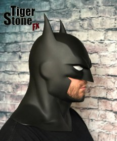 Justice League War Batman cowl (animated movie cowl) Batman Bad Blood -- made by Tiger Stone FX - side