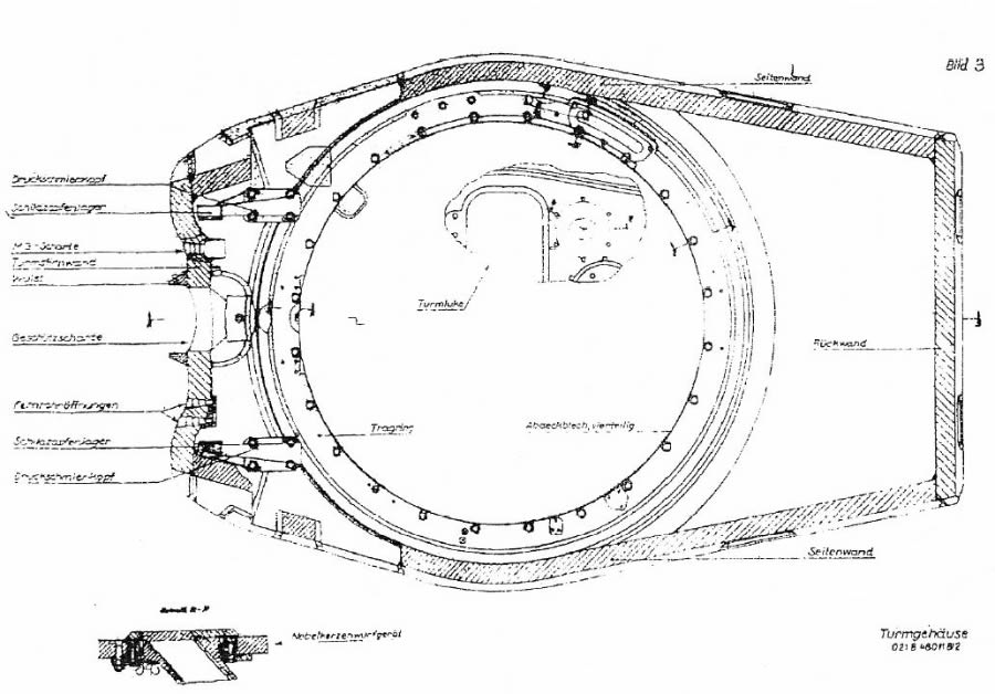 CD6 Porsche Turret