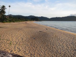 view of Juara beach Tioman Island