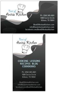 Best of Anita's Kitchen | Business Card Design - Tight ...