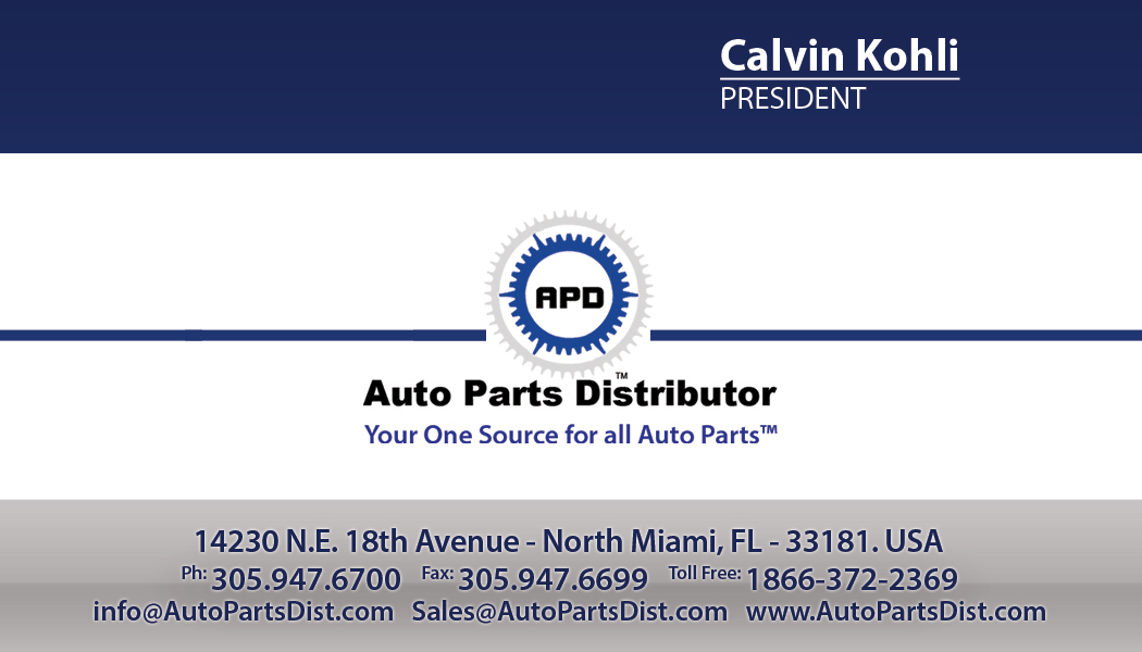 Auto Parts Distributor  Euro Auto World Business Cards  Tight Designs  Printing of Florida