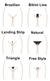 Different pussy shaves