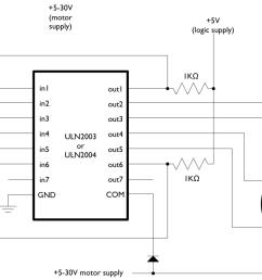 stepper motors code circuits construction 4 pole motor wiring diagram 6 wire stepper motor controller [ 1264 x 700 Pixel ]