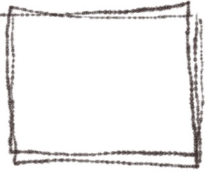 フリー素材:バナー広告:300×250pix;シンプルな四角の飾り枠のwebデザイン素材