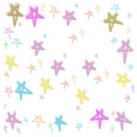 壁紙、背景のフリー素材:カラフルで大人かわいい星の壁紙。twitter,ブログ、ケータイの壁紙に。