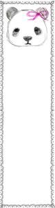 バナー広告のwebデザイン素材:大人可愛いモノクロのパンダとガーリーなレースの飾り枠。ネットショップのバナー広告に。(160×600pix)