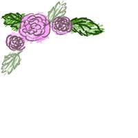 ガーリーなバナー広告、アイコン制作のフリー素材(200×200pix) ラブリーなピンクのバラのイラストのガーリーなアイコンのwebデザイン素材。 アフィリエイトのバナー広告、ネットショップのwebデザインにどうぞ。