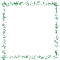 ネットショップ、バナー広告のwebデザイン素材:大人可愛い緑のドットの飾り枠の飾り枠。母の日、子どもの日のアイコン素材(200×200pix)に。