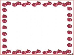 webデザイン、バナー広告、ネットショップのフリー素材:大人可愛いプチトマトいっぱいの夏の野菜イラストのフレーム(640×480pix)