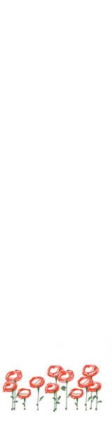 web制作、ネットショップ運営、バナー広告のwebデザイン素材:大人可愛い赤い花のフリー素材(160×600pix)