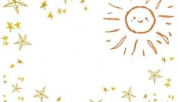 星のイラストのフリー素材壁紙パターン大人可愛いレトロ