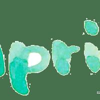 SNS,ブログなどのWebデザイン制作に使える水彩の手書き文字Aprilのフリー素材:400×200pix