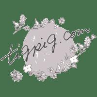 フリー素材:飾り罫・ライン メルヘンな紫の葉っぱイラスト素材