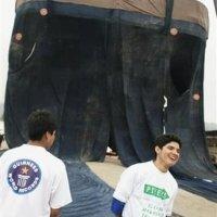 El pantalón jean más grande del mundo