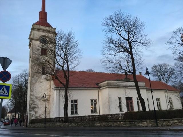 old church in saaremaa