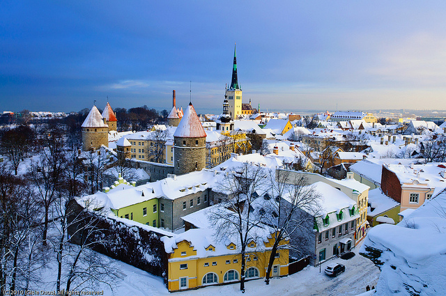 estonia in winter