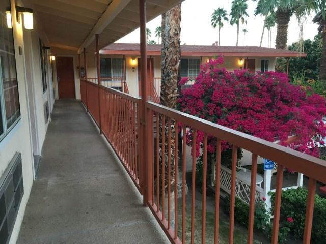 Palm Springs motel