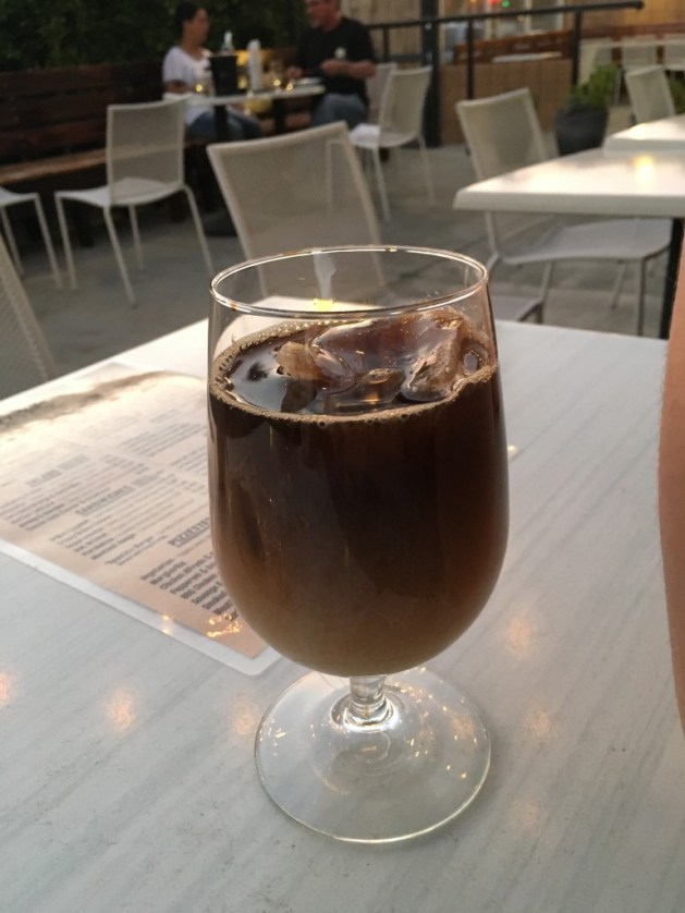 Palm Springs ice coffee