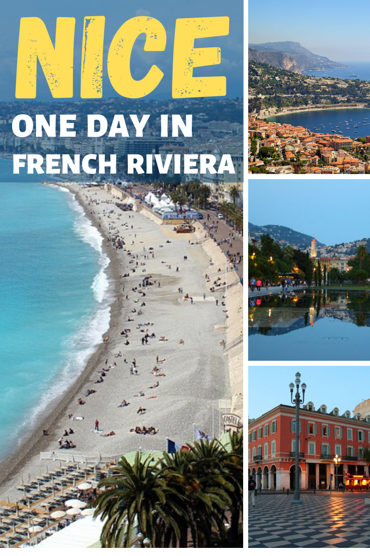 one day in nice france