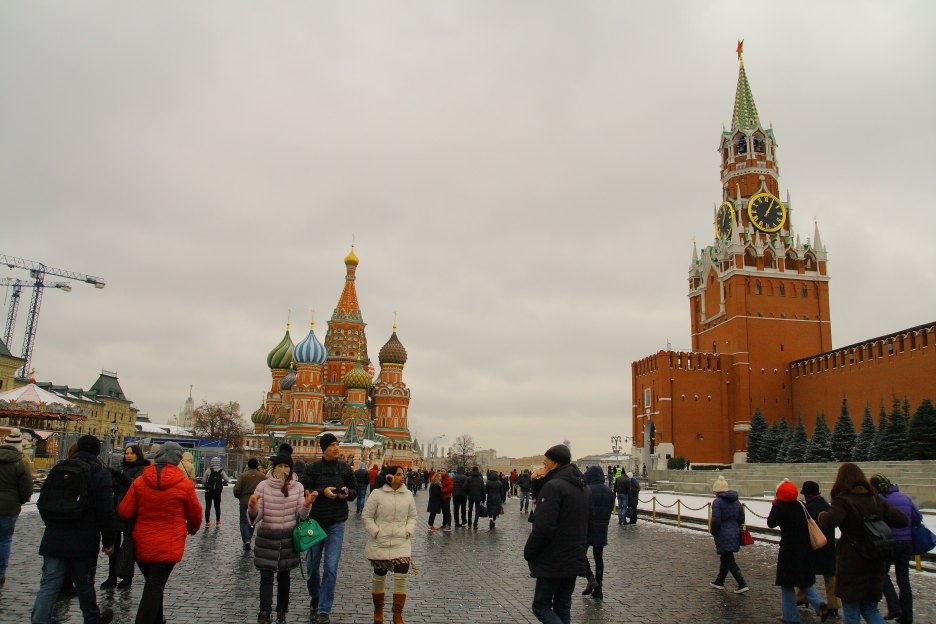 Places to visit in Moscow - red square