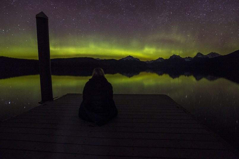 rovaniemi winter Lapland holidays - northern lights