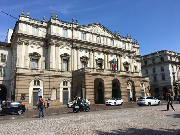 things to do in Milan in one day - La Scala