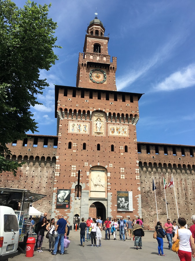 things to do in Milan in one day - Fortress