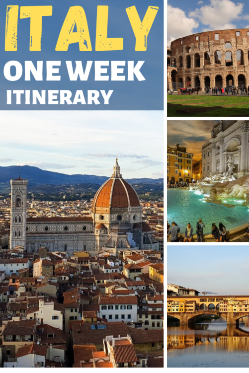italy one week itinerary