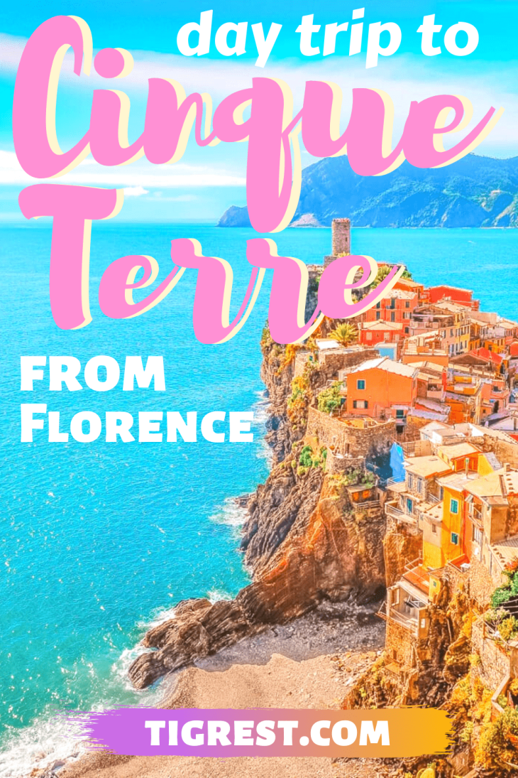 Cinque Terre day trip from Florence by public transport