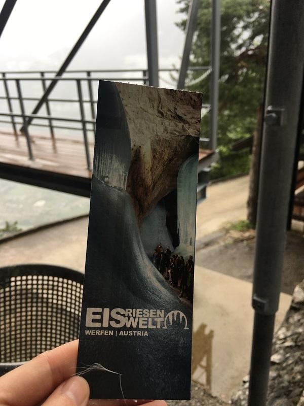 eisriesenwelt ice cave ticket