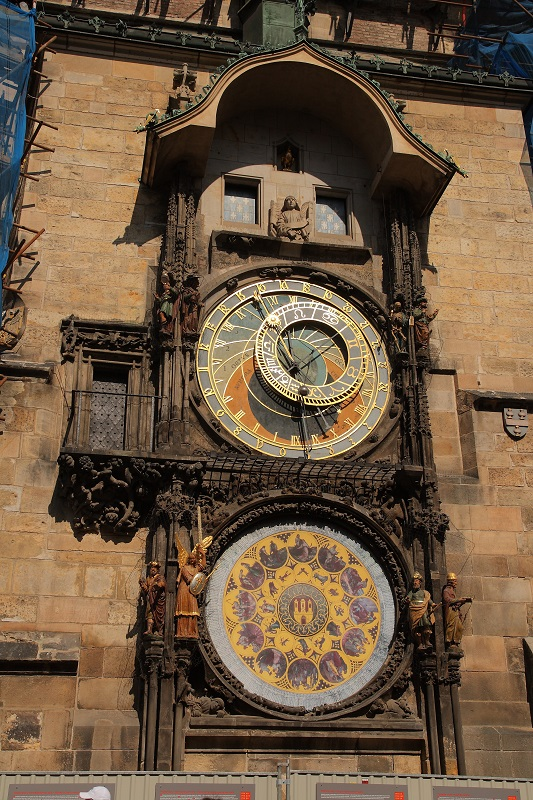 Prague walking itinerary Astronomical Clock