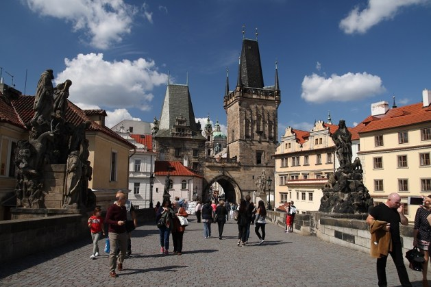 Prague walking itinerary for first time visitor