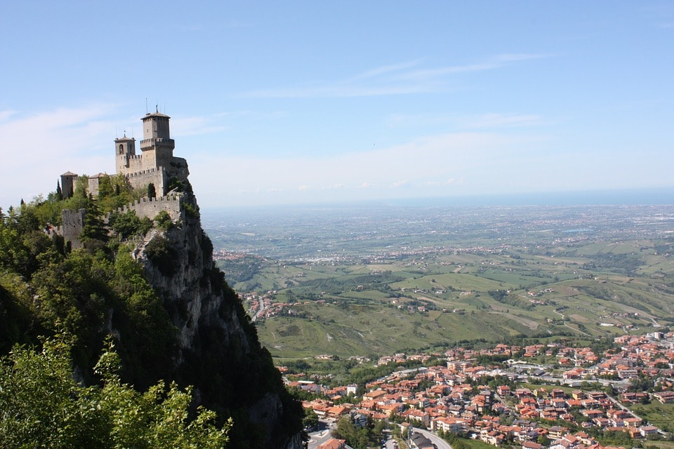 San Marino day trip from Rimini, Italy